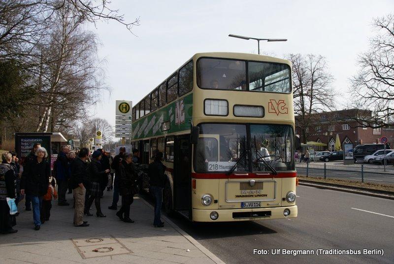 bvg autobus linie 218 traditionsbus berlin. Black Bedroom Furniture Sets. Home Design Ideas
