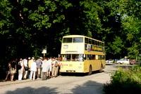 Ein Sonntagabend im Sommer an der Pfaueninsel: 2437 wird voll besetzt abfahren