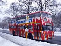 Im schneereichen Winter 2009/2010 pausiert 2329 am S-Bf Nikolassee